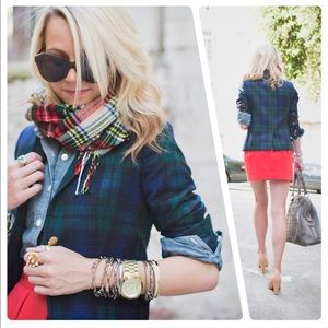 {JCrew} Plaid Blazer